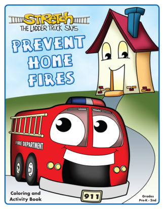 "Stretch's ""Prevent Home Fires"" Activity Book"