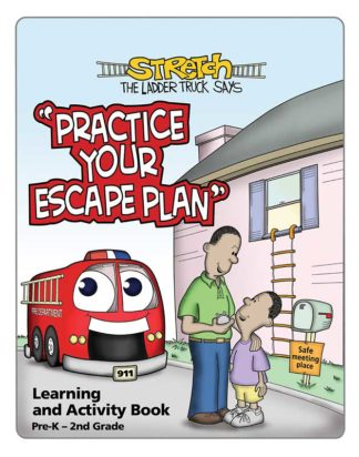 """Stretch's-Practice Your Escape Plan!"" Activity Book"
