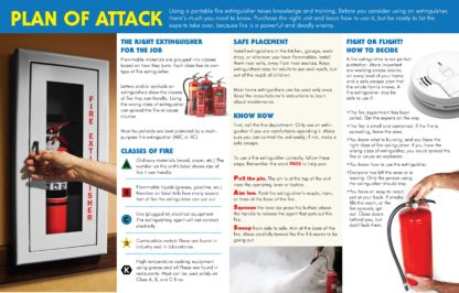 """""""Fire Extinguishers: Choosing Them and Using Them"""" Pamphlet (2)"""