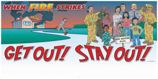 """""""Get Out! Stay Out!"""" Banner"""