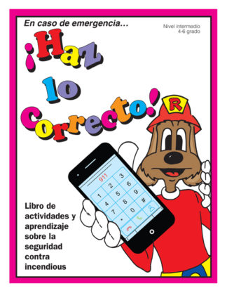 """Red's """"In An Emergency...Do the Right Thing"""" Activity Book (SPANISH Version)"""