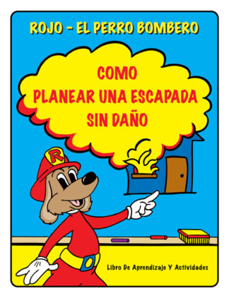 """Red's """"How to Plan for a Safe Escape"""" Activity Book (SPANISH Version)"""