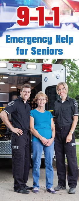 """9-1-1 Emergency Help for Seniors"" Pamphlet"