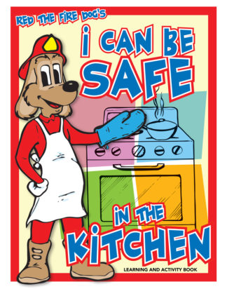 "Red's ""I Can Be Safe in the Kitchen"" Activity Book"