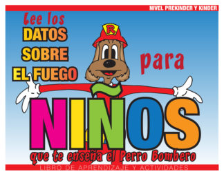 """Red's """"Fire Facts for Kids"""" Activity Book (SPANISH Version)"""