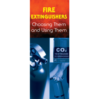 """""""Fire Extinguishers: Choosing Them and Using Them"""" Pamphlet"""