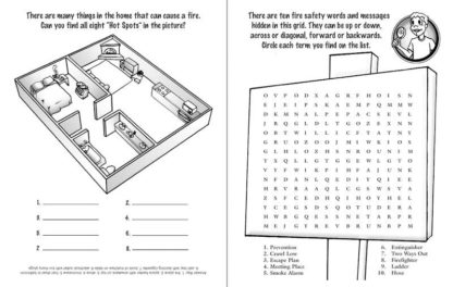 When Fire Strikes: Get Out! Stay Out! Activity Book for Grades 4 - 6