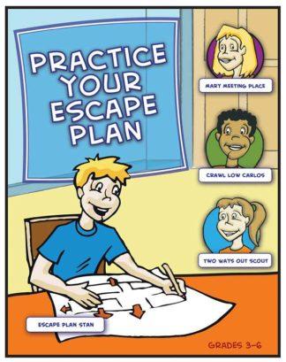 """""""Practice Your Escape Plan!"""" Activity Book"""