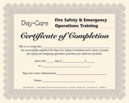 Day-Care Staff Certificate