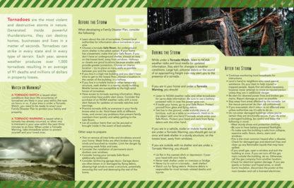 """Planning Ahead: Tornadoes"" Pamphlet (page 2)"