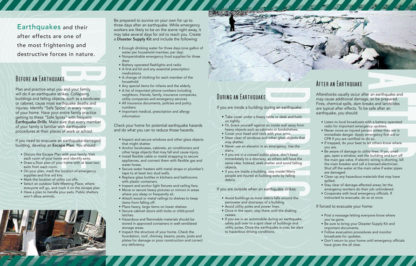 """""""Planning Ahead: Earthquakes"""" Pamphlet (page 2)"""