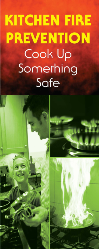 """Kitchen Fire Prevention: Cook Up Something Safe"" Pamphlet"