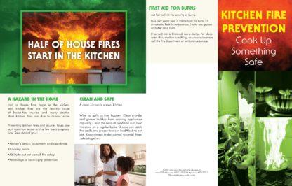 """Kitchen Fire Prevention: Cook Up Something Safe"" Pamphlet (1)"
