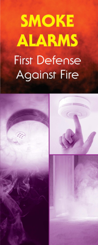 """Smoke Alarms: First Defense Against Fire"" Pamphlet"