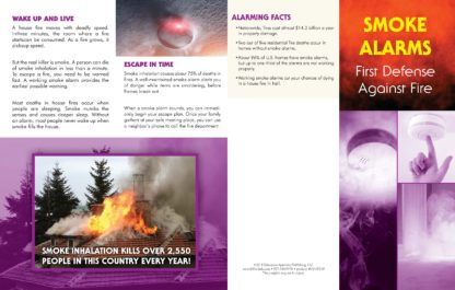 """Smoke Alarms: First Defense Against Fire"" Pamphlet (1)"