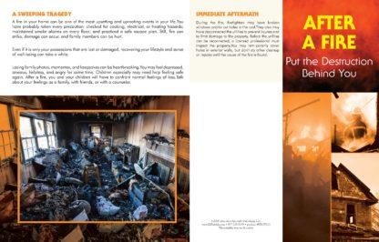 """After a Fire: Put the Destruction Behind You"" Pamphlet (1)"