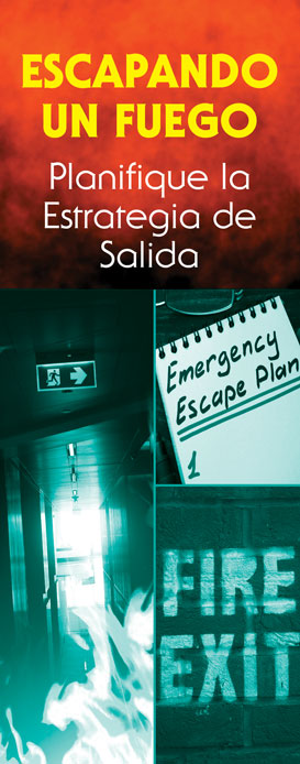 """Escaping a Fire: Plan Your Exit Strategy"" Pamphlet (SPANISH Version)"