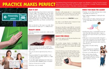 """""""Home Fire Drills: Practice for Survival"""" Pamphlet (2)"""