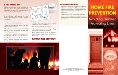 """Home Fire Prevention: Avoiding Disaster, Protecting Lives"" Pamphlet (1)"