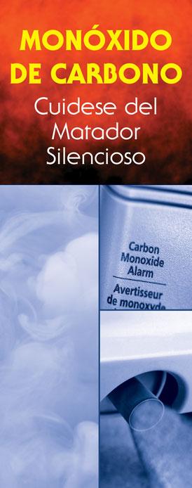 """""""Carbon Monoxide: Guard Against a Silent Killer"""" Pamphlet (SPANISH Version)"""