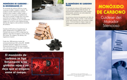 """Carbon Monoxide: Guard Against a Silent Killer"" Pamphlet (SPANISH Version) (Page 1)"