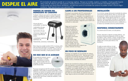 """Carbon Monoxide: Guard Against a Silent Killer"" Pamphlet (SPANISH Version) (Page 2)"