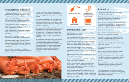 """""""Planning Ahead: Flooding"""" Pamphlet (page 2)"""