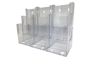 Information Center Acrylic Holder (9 Compartment)