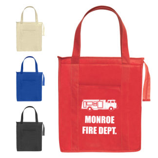Custom Insulated Shopper Tote