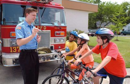 """""""You Can Team Up for Fire Safety"""" (for children) DVD"""