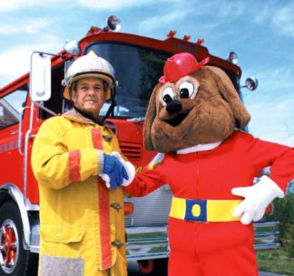 """""""Red's Our Friends the Firefighters"""" DVD"""