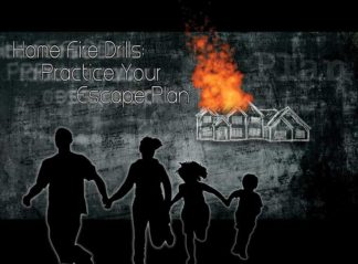 """""""Home Fire Drills: Practice Your Escape Plan"""" DVD"""