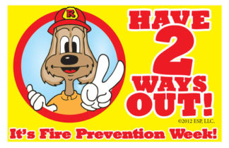 "Red's ""Have 2 Ways Out"" Pledge Card (front)"