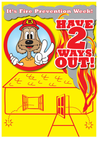 """Red's """"Have 2 Ways Out"""" Poster"""