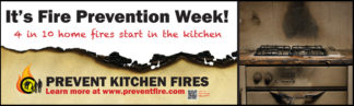 Prevent Kitchen Fires Banner