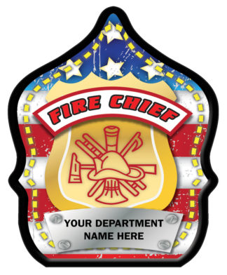 Fire Chief Flag Hat