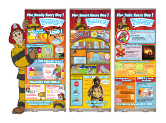 Ace's Fire Ready Every Day Presentation Display Package
