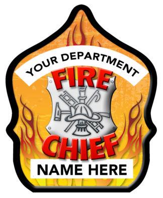 Fire Chief Shield Hat