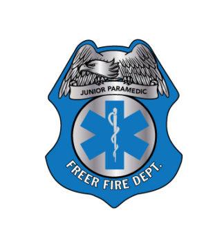 Custom Junior Paramedic Sticker Badge