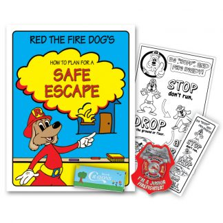 "Red's ""How to Plan A Safe Escape"" KidPak"