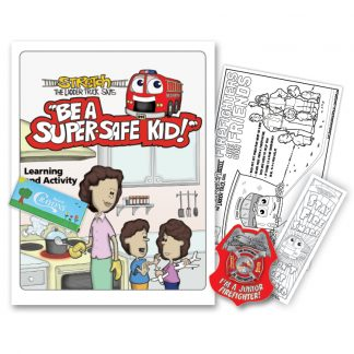 "Stretch's ""Be a Super Safe Kid"" KidPak"