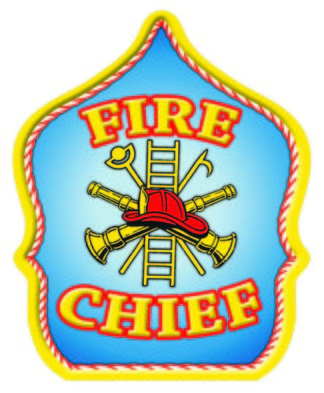 """""""Fire Chief"""" Fire Hat"""