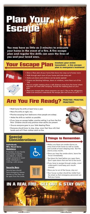 """""""Plan Your Escape"""" Presentation Display"""