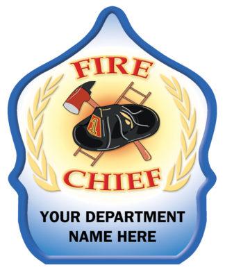 "Custom ""Fire Chief Wheat"" Fire Hat"