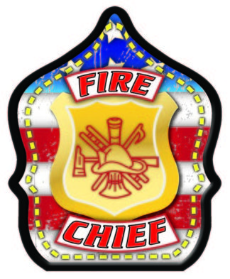 Fire Chief Flag Fire Hat