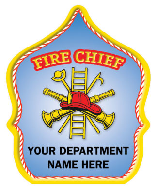 "Custom ""Fire Chief"" Fire Hat"