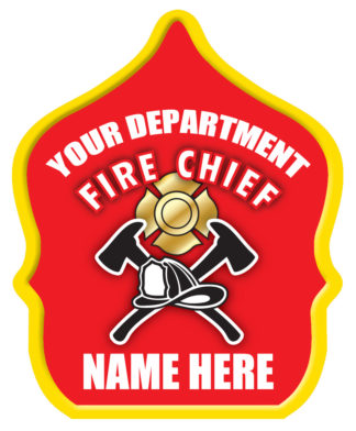 """Custom """"Fire Chief Red"""" Fire Hat-0"""