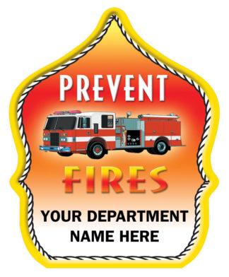 """Custom """"Prevent Fires"""" Fire Hat"""