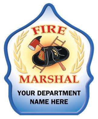 Custom Fire Marshal Hat