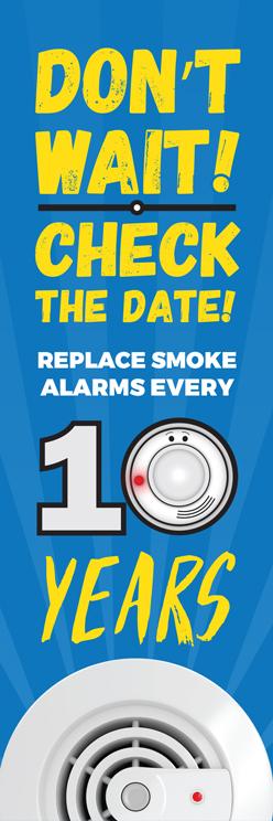 "Alert Bert's ""Don't Wait - Check the Date!"" Bookmark (front)"